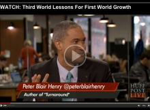 Peter Blair Henry on HuffPost Live